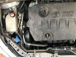 צילום כללי של המנוע