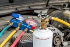 גז מזגן רכב
