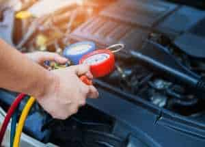 דליפת גז מזגן ברכב